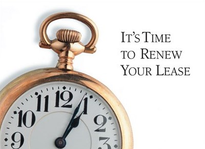 three important things to know if you wish to renew your lease