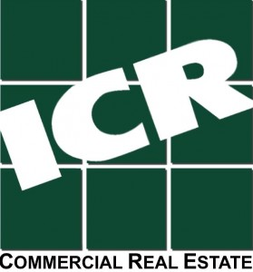 ICR Logo green with shadow