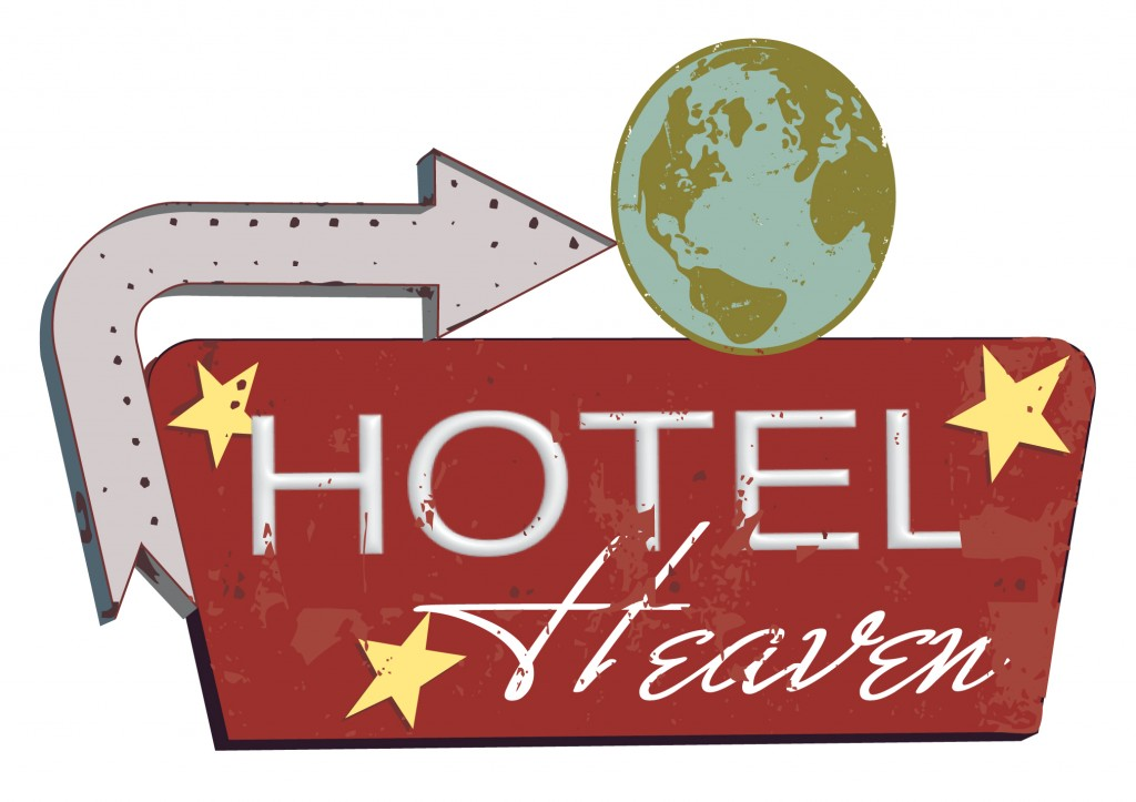 hotel heaven sign board_2