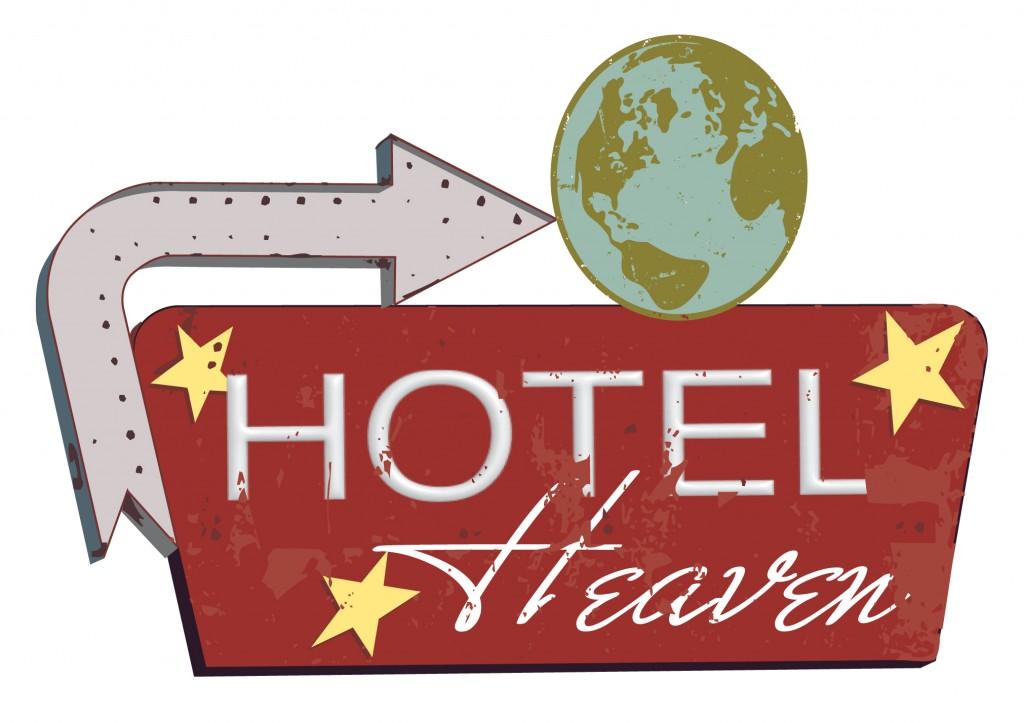 hotel heaven sign board_2